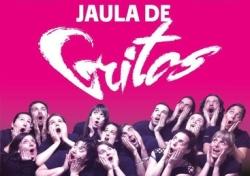 Cartel promocional de Jaula de Gritos. Fuente: http://www.experimentoscorales.es/